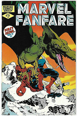 Collectibles Marvel Fanfare #6 Nm 9.4 Craig Russell Spiderman Doctor Strange
