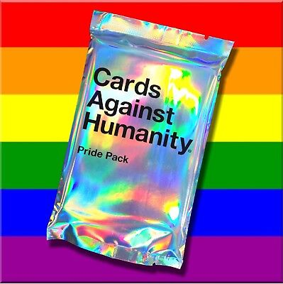 🌈GENUINE Cards Against Humanity UK GAY PRIDE pack CAH - LGBTQIA 🌈 NEW & SEALED