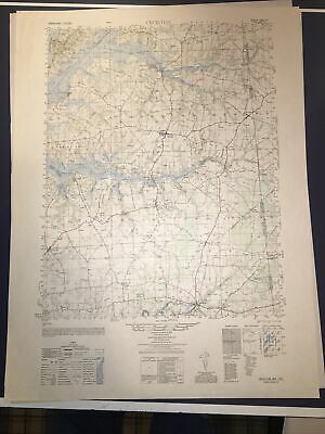 1940's Army (like USGS) topographic map Cecilton Maryland -Sheet 5862 IV