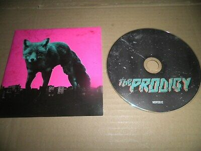 Rare The Prodigy Wild Frontier CD 6 Track 2015 Nasty Instrumental & Remix