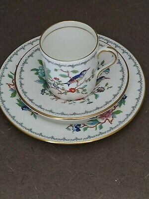 Aynsley Pembroke Coffee Cup, Saucer and Plate