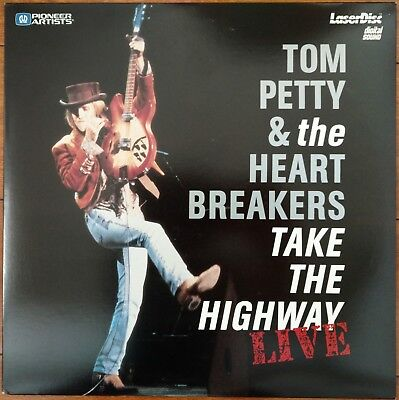 TOM PETTY & The HEARTBREAKERS Laserdisc Take The Highway Live Concert LD