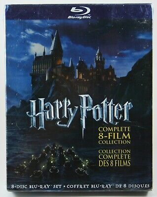 Harry Potter The Complete 8-Film Collection Blu-ray BRAND NEW Canadian