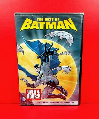 The Best of Batman (DVD, 2012, 2-Disc) Animated TV Series, 13 Episodes BRAND NEW