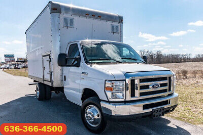 2014 Ford E350 xl Used box 1 owner ramp delivery moving cargo van