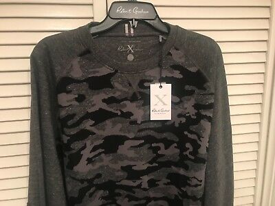 Robert Graham Mens Mooers Long Sleeve Crew Kneck Knit