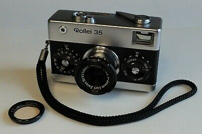 Rollei 35 Made in Germany mit Tessar 3,5/40mm.