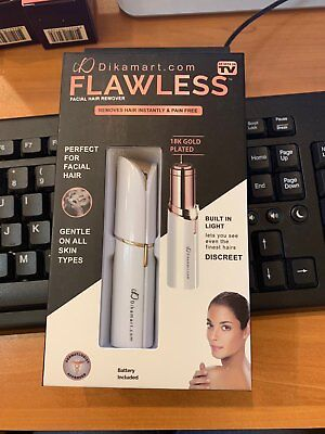 Finishing Touch Flawless Womens Painless Hair Remover 2 - included Battery