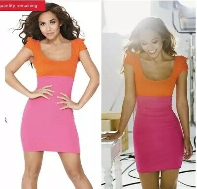 9bd54099ed Dresses Women s Clothing BNWT Jessica Wright Sophia Hot Pink Midi Evening  Occasion Dress Size 16 NEW