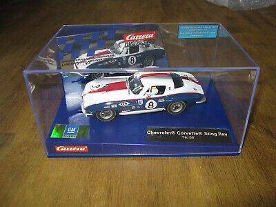 US Carrera Digital 132 30757 Chevrolet Corvette Sting Ray 427, weißrotblau - neu