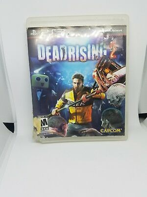 deadrising 2 ps3 replacement case only, damaged