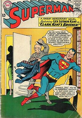 Superman Vol 1 # 176 / 1965 V.g+/fine- / The Super-Pets.
