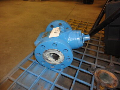 "Lubricated Plug Valve NORDSTROM K2045 Dynamic Balance 2"" 300 Flanged"