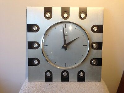 Vintage Mid Century  Timemaster West Germany / Japan Wall Clock