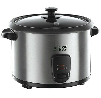 Russell Hobbs Rice Cooker and Steamer 19750, 1.8 L-Silver