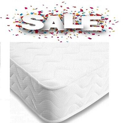 3FT Single Comfy kids budget Memory Foam Sprung Mattress With Free UK Delivery