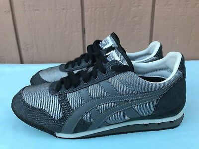 58a1e1e2a810 Tiger Onitsuka Asics HN201 Youth US 5 Gray Sneakers Running Athletic A9