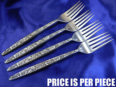 International Valencia Sterling Silver Place Fork - Very Good Condition