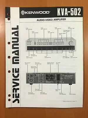 Original Service Manual Kenwood Dp-h5 Tv, Video & Audio