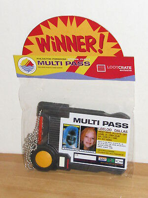 QMX Fifth Element Leeloo Dallas Multi Pass Prop Replica Loot Crate Exclusive MIB