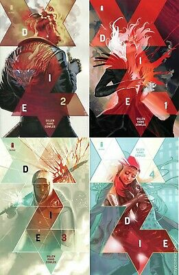 DIE #1, 2, 3, 4  Cover A  IMAGE  Stephanie Hans, Keiron Gillen  NM FIRST PRINTS!