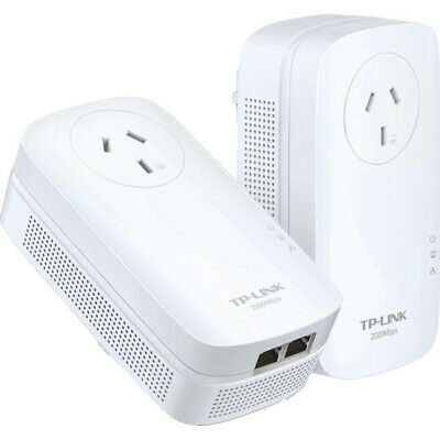 PA9020PKIT TP-LINK Gigabit Powerline Adapter Kit 2000Mbps Power Pass Av2000