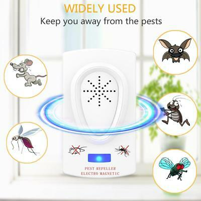 Electric Mosquito Fly Bug Insect Trap Killer Zapper Night Lamp Pest Repeller