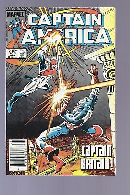Canadian Newsstand Edition Captain America #305 $0.75 price variant