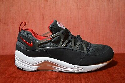 2fa5657f8f56 NIKE AIR HUARACHE Light 306127 006 Black University Red-Wolf Gray ...