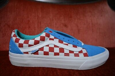 adc1a84c9f5f VANS OLD SKOOL PRO S GOLF WANG ODD FUTURE Blue RED White VN000ZD4J7R Size 9