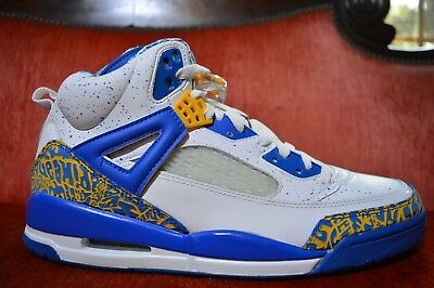 new product 2a41b a4d31 07 Nike Air Jordan SPIZIKE DTRT DO THE RIGHT THING WHITE RED GOLD ARGON  BLUE 11