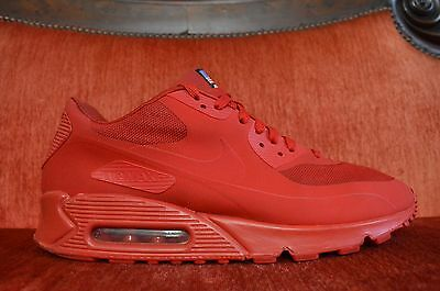 bf534ca5 Nike Air Max 90 Hyperfuse Qs Sport Red Independence Day 613841-660 Size 11