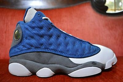timeless design aeb57 8ebd7 NIKE AIR JORDAN 13 XIII Retro French Blue University Blue Flint Grey  414571-401