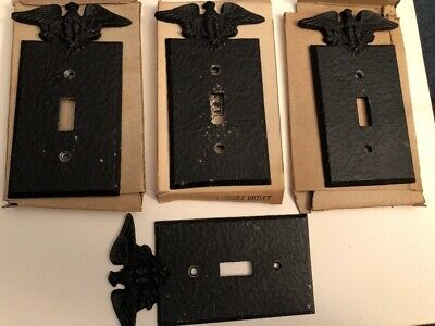 Robert Emig Products Light Switch Cover Lot Of 4
