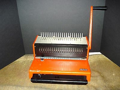 Ibico Ag-Seestrasse Ibimataic Binding Machine-Switzerland 346-8030-Nice-Works