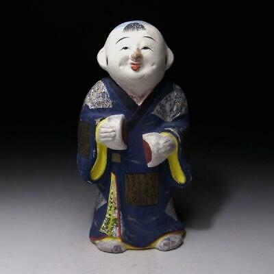 OE3: Vintage Japanese Clay Doll, Boy with KIMONO in old times