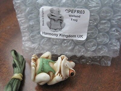 Harmony Kingdom Welland Frog Pendant 1st UK Relaunch Event LE 100 RARE