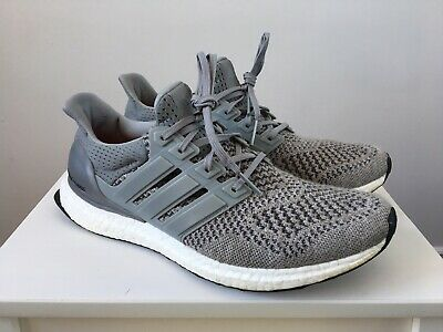 68c9d161769dd Adidas Ultra Boost 1.0 Wool Grey Mens Us Size 9.5 100% Authentic Released  2015