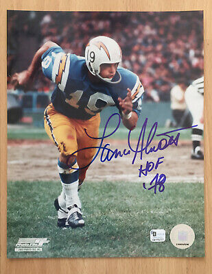 Signed 8x10 PHOTO Reprint San Diego CHARGERS LANCE ALWORTH