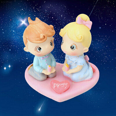 7412 Candle Crafts Fairy Romantic Cute Figures Couple Home Decorations Ornament