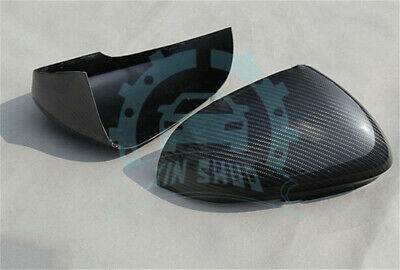 For Jaguar XE XK XF XJ XKR Add On Carbon Fiber Mirror Cover 2012 2013 2014+ ab52