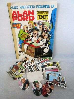 ALAN FORD E GRUPPO TNT-CORNO 1977-FIGURINA a scelta-STICKER at choice-Recuperata
