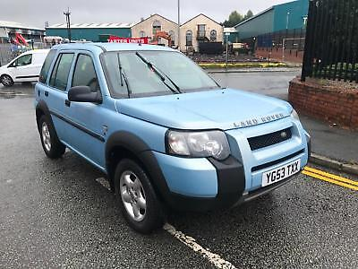 04/53 LAND ROVER FREELANDER 2.0Td4 E 5 DOOR MOTd APRIL 2019 VERY CLEAN
