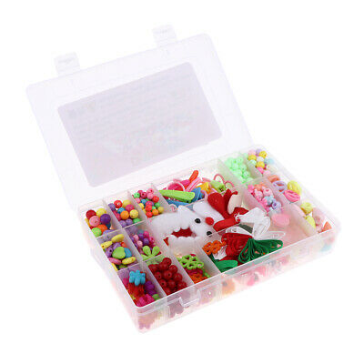 Colorful Acrylic Beads Set for Jewelry DIY Making Craft Girls Kids Toy