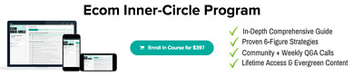 Arie Scherson eCom Inner Circle Shopify Course [INSTANT DOWNLOAD]