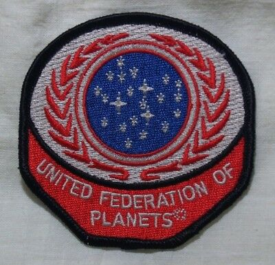 Star Trek United Federation of Planets patch (symbol) - New - US Seller