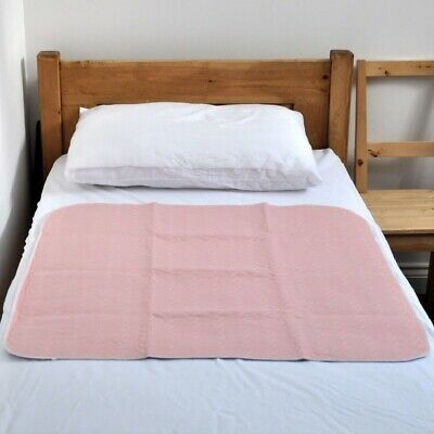 Washable Incontinence Bed Pad Reusable Absorbent Wetting Sheet Protector Dry Mat