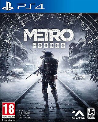 Metro Exodus (PS4)  NEW AND SEALED - IN STOCK - QUICK DISPATCH - FREE UK POSTAGE