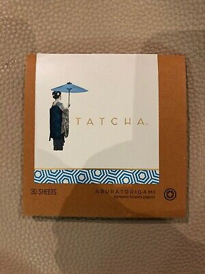 Tatcha 30 Sheets Aburatorigami Japanese Beauty Papers BN
