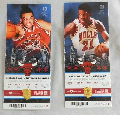 2013-14 Chicago Bulls Ticket Stub Pick One